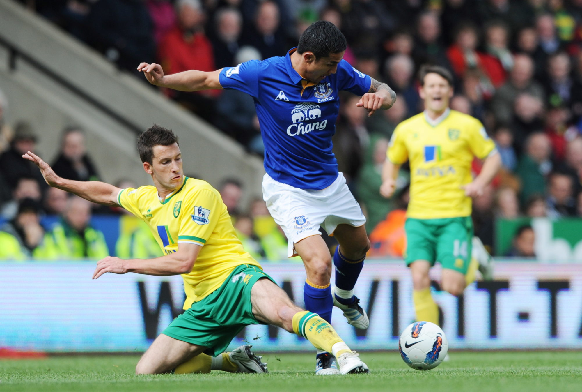 Norwich City v Everton Barclays Premier League