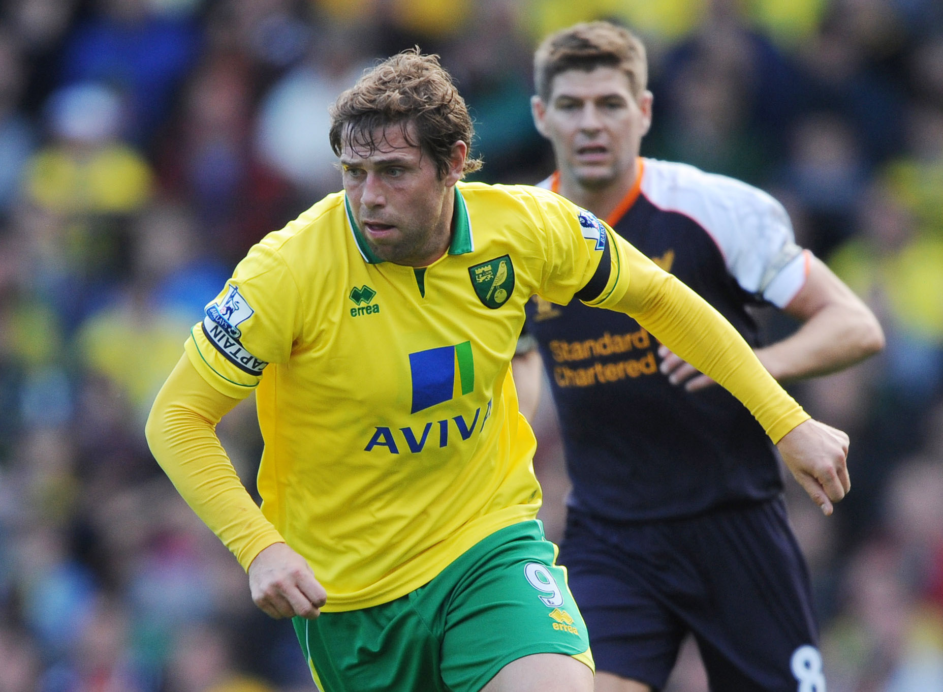 Norwich City v Liverpool - Barclays Premier League