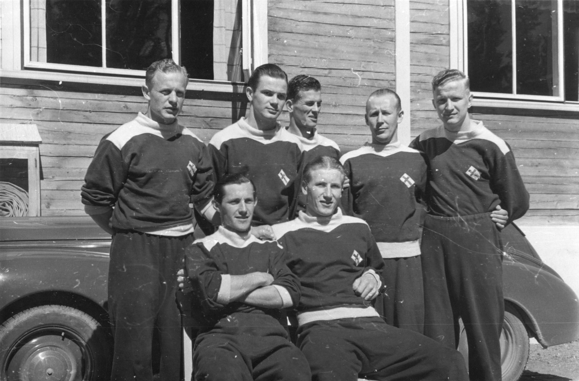 Eerikkilä-Historia-Olympiajoukkue1952