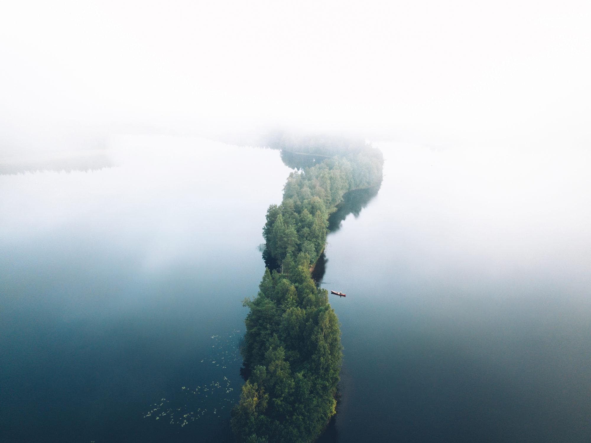 Eerikkila-Luontokeskus-Liesjarvi-ilmakuva