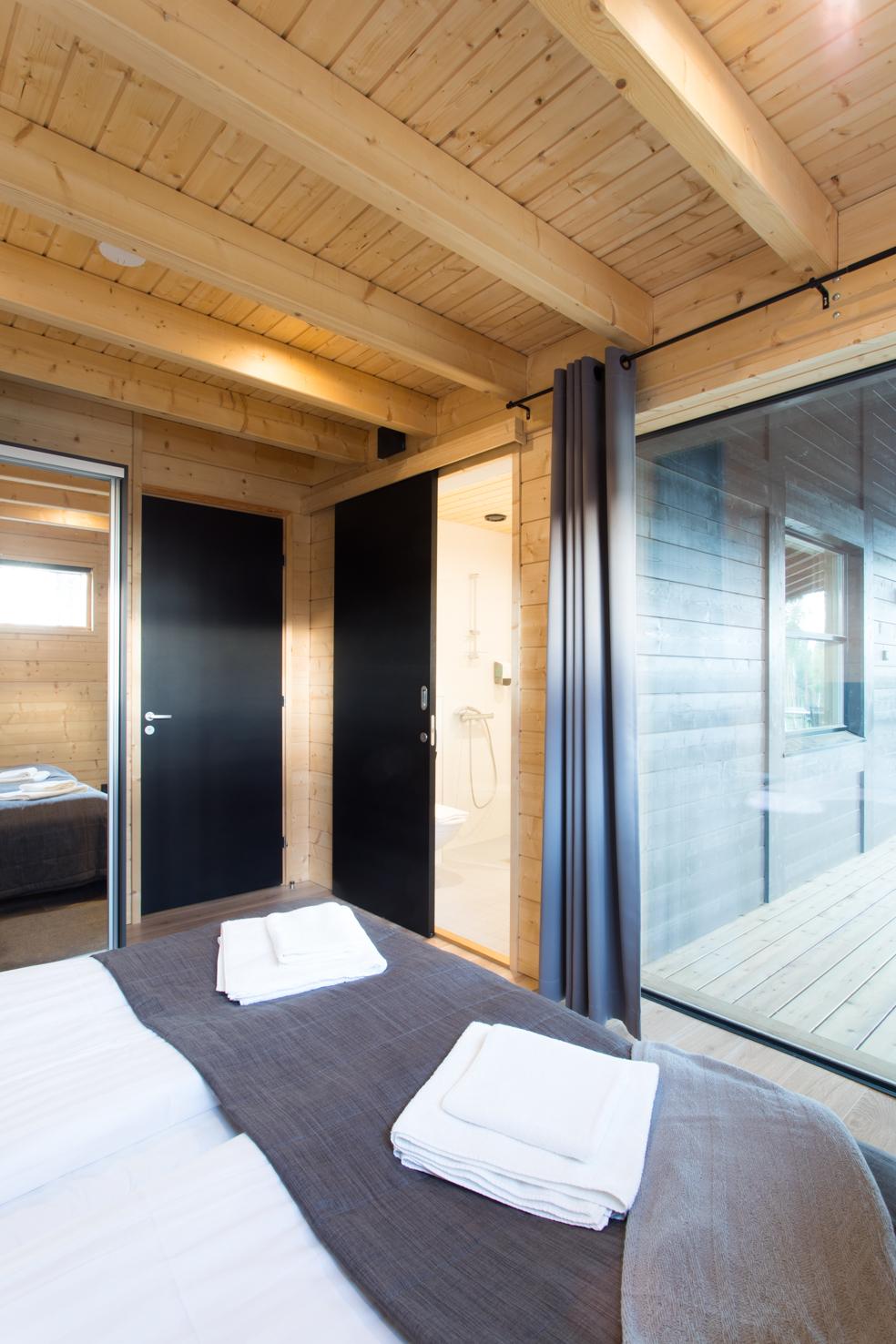 Huvila 190 Villa 190 Eerikkilä_bedroom
