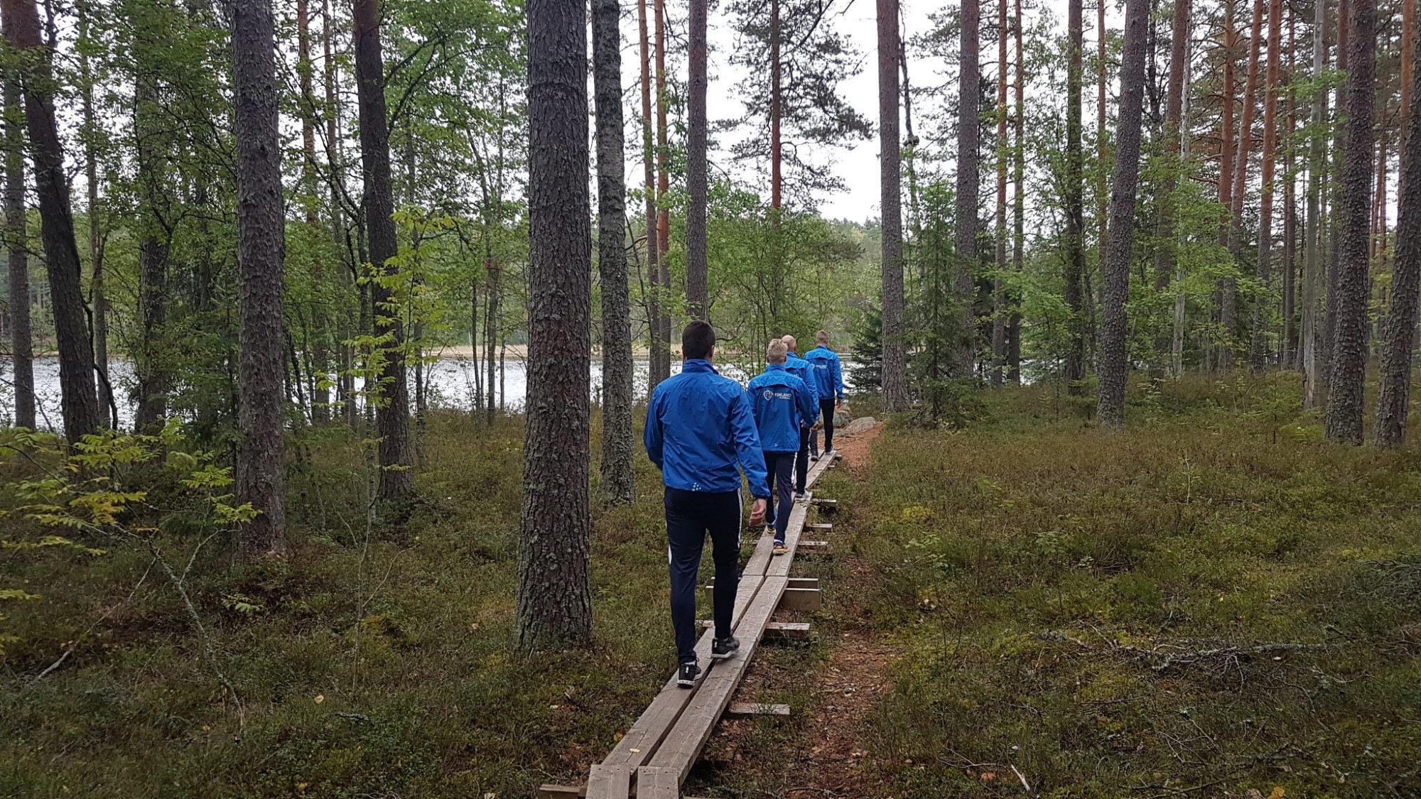 U19 salibandymaajoukkue Eerikkilä