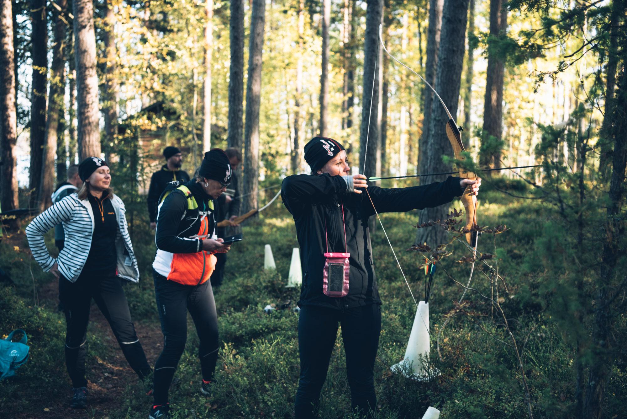 Eerikkilä Challenge Liesjärven kansallispuisto