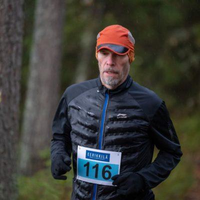 Mikko Komi Eerikkilä Trail Runissa 2019