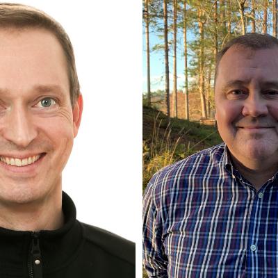 Mikko Pohjola ja Erkki Valla Eerikkilä